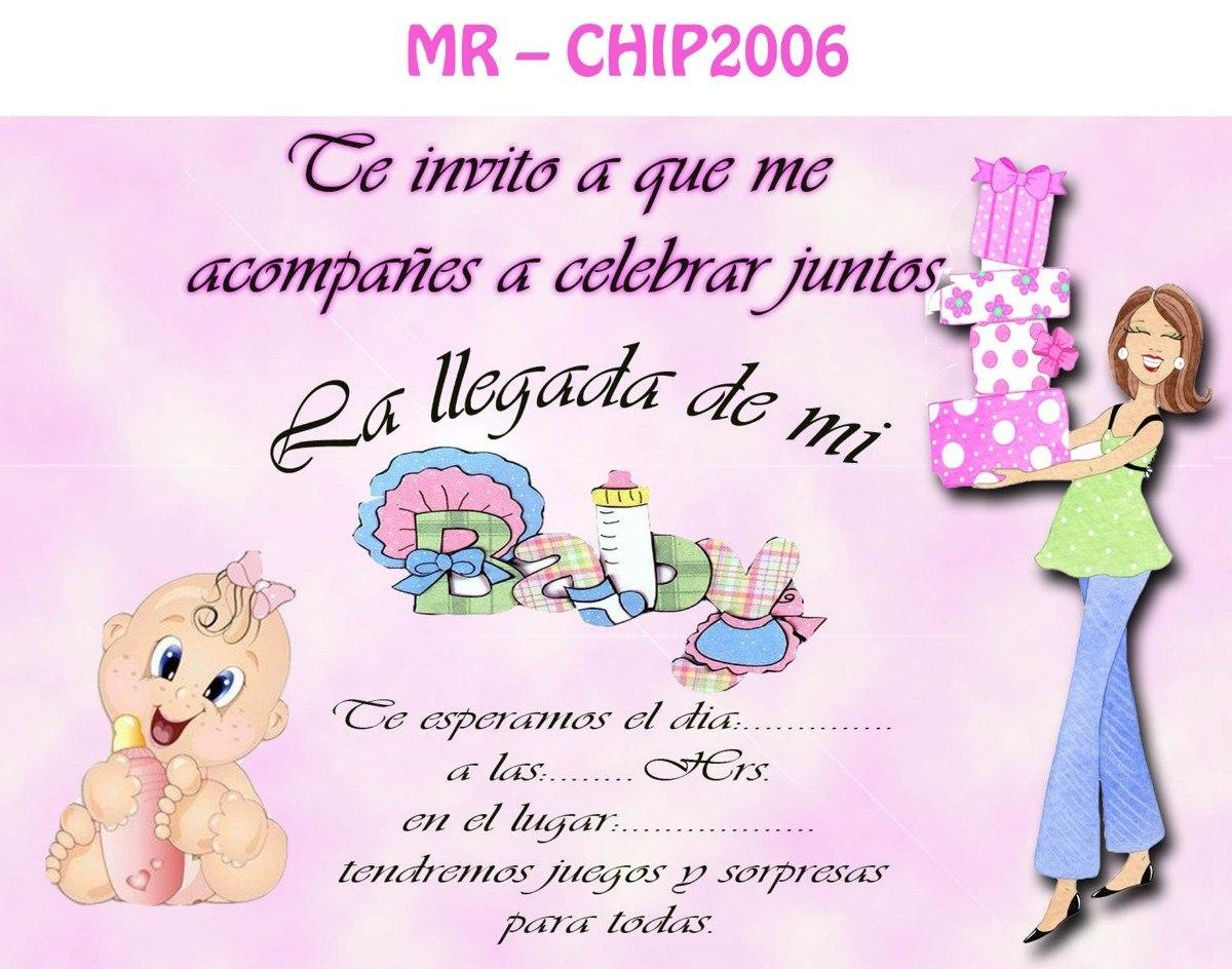 Baby Shower Tarjetas De Invitación Gratis Imagui