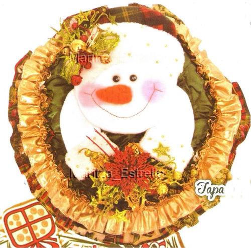 Lenceria De Baño Navidad:Kit Patrones Lenceria Navidad Juegos De Baños Muñecos Arbol – Bs