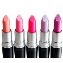 Labiales En Barra Mac, Maquillaje Lipstick Excelente Calidad