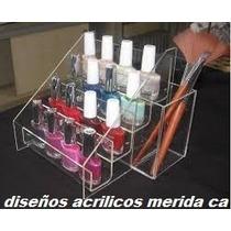 Organizador De Esmaltes Maquillaje Labiales