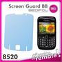 Lamina Protectora Transparente Para Blackberry 8520.