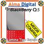 Lamina Protector Pantalla Espejo Blackberry Q5 Bb Negro