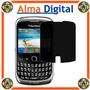 Lamina Protector Pantalla Antiespia Blackberry Curve 9300