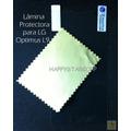 Lamina Protector Pantalla Transparente Lg Optimus L9 Chacao