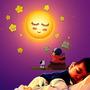 Lamparas Infantiles Sol Flor Rosada Girasol Luna Estrella