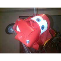 Lámpara Id Lights Infantil Modelo Cars Disney/techo