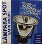 Lampara Spot 4 Aluminio 145mm Rosca E27