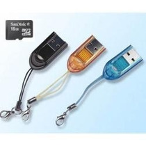 Lector Adaptador Usb Memoria Microsd Tipo Pendrive Celulares
