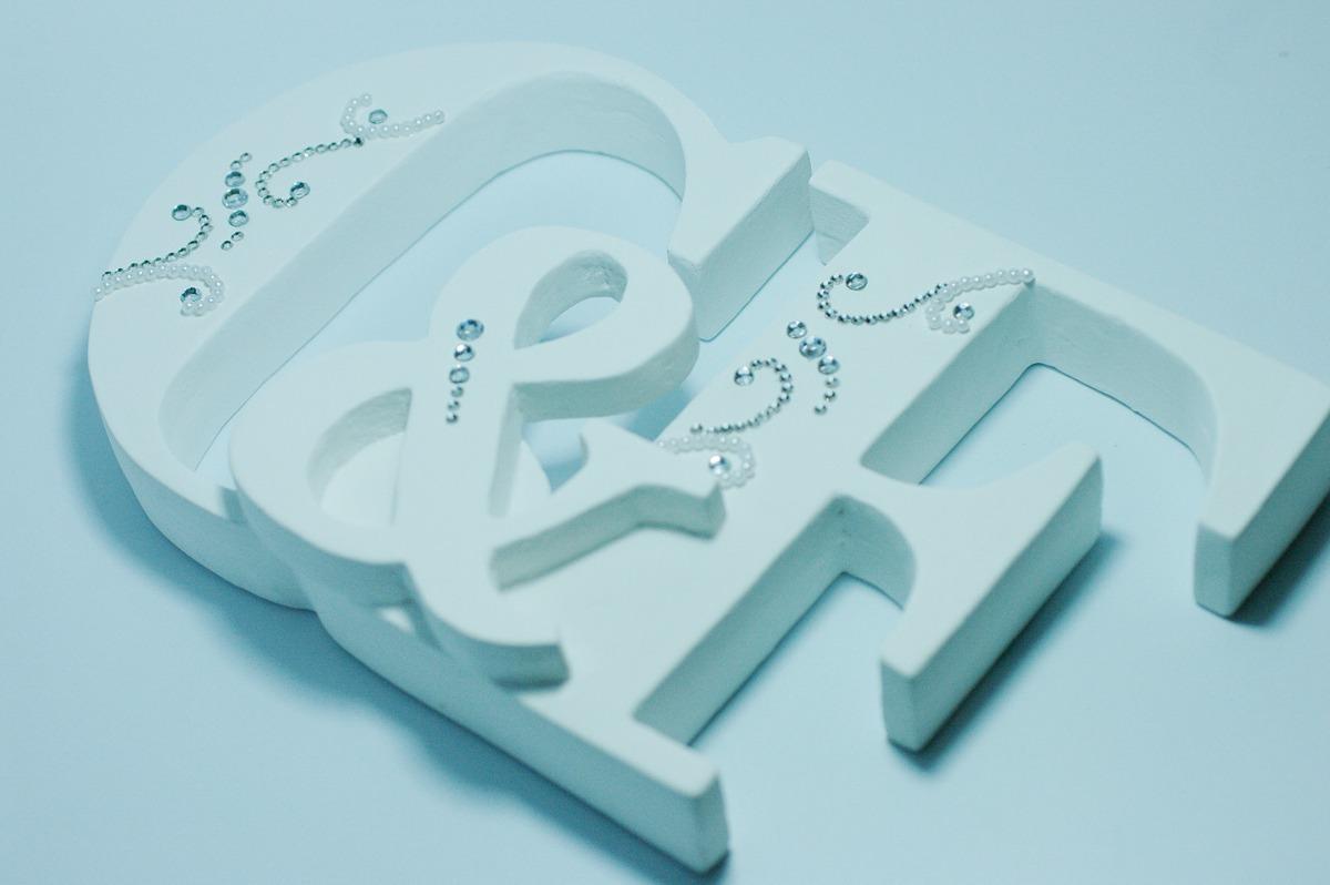 Letras De Decoracion Para Bebes ~ letras en mdf para decoracion habitacion bebes ninos 16780