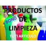 Elaboracion De Productos De Limpieza Mas De 2000 Formulas