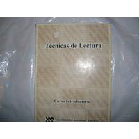 Técnicas De Lectura. Universidad Nacional Abierta 2000