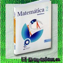 Matematica 2 5to Año Educacion Media Santillana