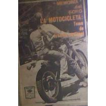 Memoria Del Foro La Motocicleta Tema De Interés Nacional