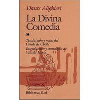 Libro, La Divina Comedia De Dante Alighieri.
