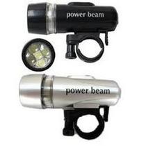 Linterna Power Beam,ciclismo,etc.negro Y Gris Solo Envios.