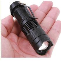 Linterna Aa Reflector Faro Led Cree Q5 Tactica Con Bateria