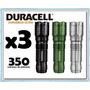 Linterna Duracell X3 350 Lúmenes Incluye Baterias