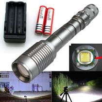 Linterna Ultrafire Cree 2200 Lumens Color Acero
