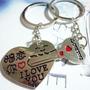 Llaveros Corazon Llave Enamorados Regalo Amor Cupido