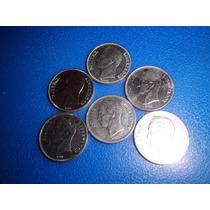 Lote De Monedas De 2 Bs. Años 67-86-88-89*-90
