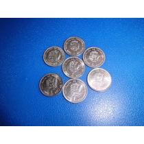 Lote De Monedas De Bs.1,00 Años 67-77-86-89* Y 90