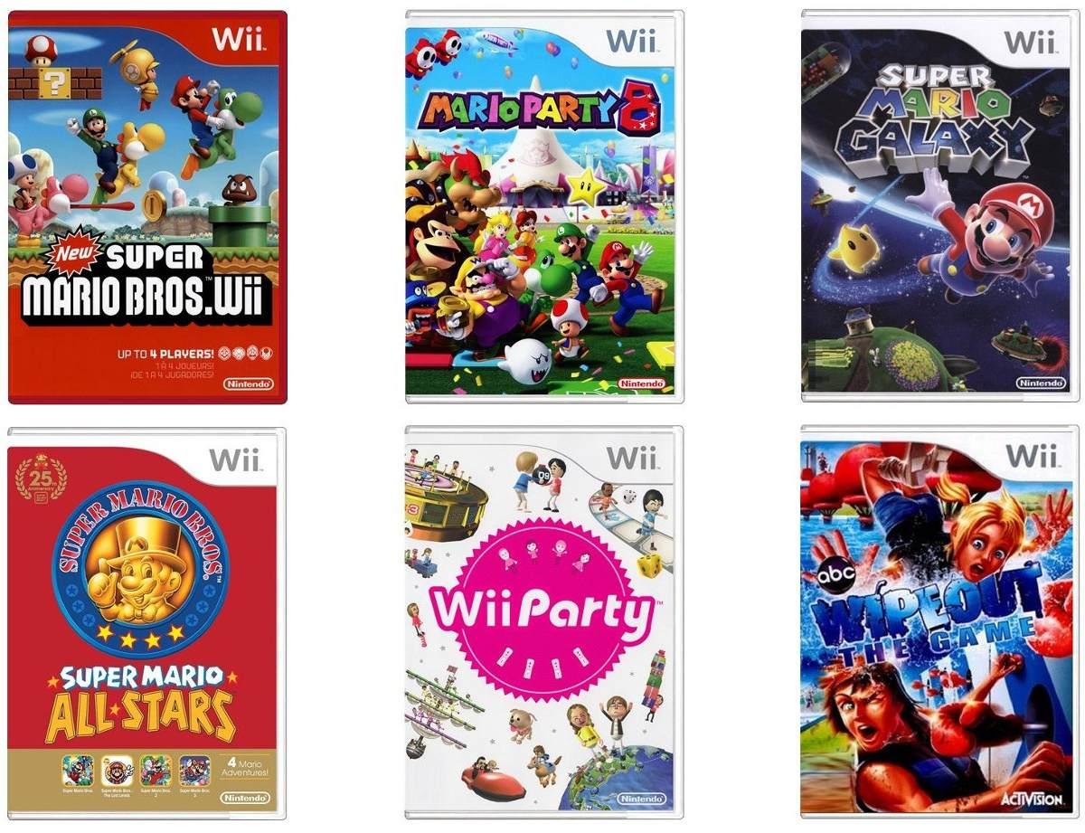 listado de juegos:
