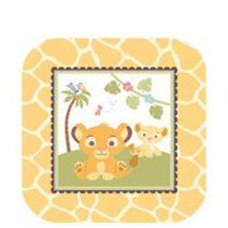 Manteleria Importada Baby Shower Rey Leon Disney Unisex.