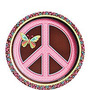 Manteleria Importada Hippie Chick, Paz, Amor,love, Mariposas
