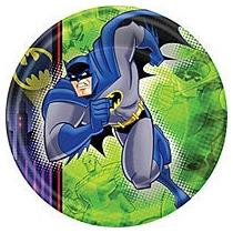 Combo Decoracion Batman Manteleria Cumpleaño Infantil