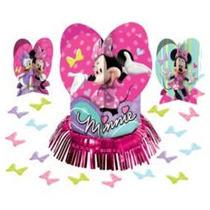 Centro De Mesa Minnie Mouse Disney.