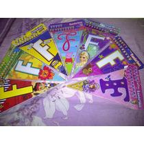 Banderines Feliz Cumpleaños Peppa Frozen Safari Monkey Love