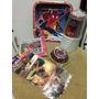 Manteleria Combo Kit Fiesta Infantil Spiderman Vasos Platos