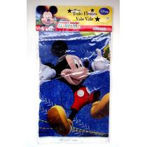 Mickey Mouse Mantel Para La Mesa Principal Importada