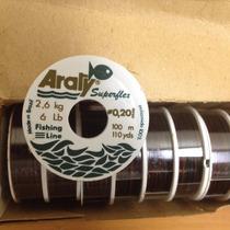 Nylon 0,20mm 100metros 2,6kg 6lb Pesca U Otros Usos