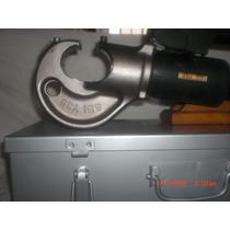 Prensa Hidraulica Sbi Connector Comprime 4/0 350 Y 750mcm