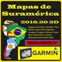 Mapas Para Gps Garmin - Toda Suramérica - Versión 2016.20