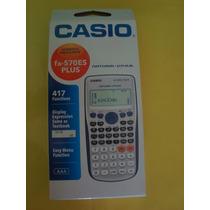 Calculadora Científica Casio Fx 570 Es Plus Nuevo