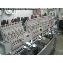 Maquina Bordadora Industrial Zgm 4 Cabezales