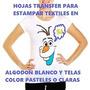 Papel Transfer Para Telas Claras