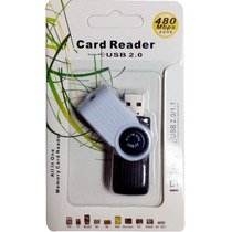 Lector De Memorias Sd Ms Xd M2 15 En 1 Card Reader Usb 2.0