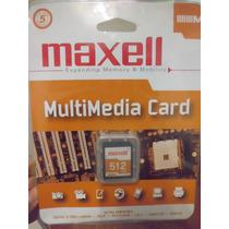 Memoria Maxell Tipo Sd 512 Mb Camaras, Celulares
