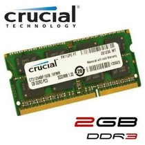 Memoria Para Laptop Compatible Ddr3 2gb. 1600mhz