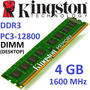 Memoria 4gb Ddr3 1600 Mhz Kingston Pc3-12800 Nuevas Blister