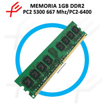 Memoria Ddr2 1 Gb Pc2-5300 667mhz / Pc2-6400 800mhz.