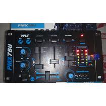 Mezclador Pyle 3 Canales Con Bluetooth Y Puerto Usb 75mil