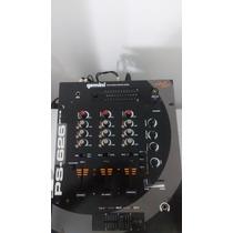 Mezclador 3 Canales Marca Geminis Modelo Ps-626