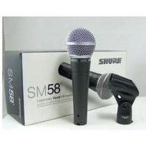 Microfono Profesional Shure Sm 58 Vocal