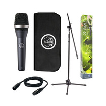 Paral, Microfono, Clamp, Cartuchera, Cable Akg D5 Stage Pack