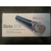 Vendo Microfono Shure Beta 57a Nuevos