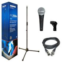 Pg58bts Shure Microfono Pg58 Vocal Con Cable+paral Audioson